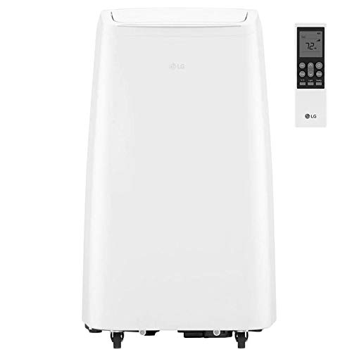 LG Portable 115V Air Conditioner, Rooms up to 200-Sq. Ft, White (Renewed)