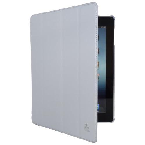 Smart Case - Custodia Intelligente – Cover ed appoggio con copertura integrale del dispositivo per Nuova Apple iPad 4 Retina Display - iPad 3 - iPad 2 – Grigio