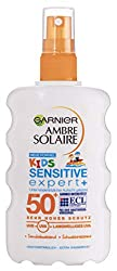 Garnier Ambre Solaire Sensitive Expert plus sun protection spray for children SPF 50 plus, 1 pack (1 x 200 ml)