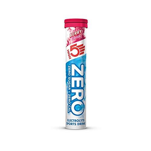 High5 High5 Zero Bebida Isotónica De Hidratación Electrolítica Con Vitamina C - Arándanos - 20 Tablet Tubes 320 g