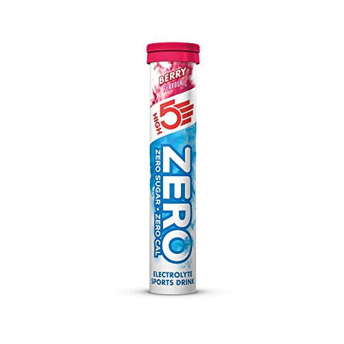 HIGH5 ZERO Electrolyte Hydration Tablets Added Vitamin C - (Berry, 20 Tab Tube)