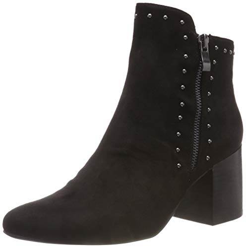 Bianco Damen Ankle Boot with Details Stiefeletten, Schwarz (Black 110), 40 EU