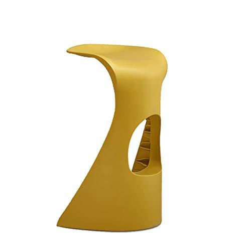 Xnlife barkruk, eenvoudige barkruk, modieus, voor thuis, creatieve eettafel en stoelen van kunststof voor krukken, verschillende kleuren
