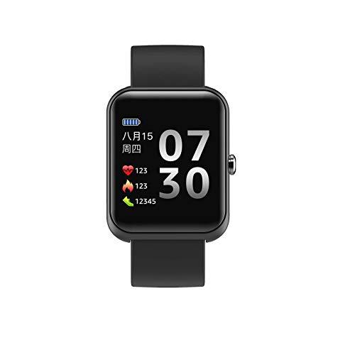 N-B Reloj inteligente recordatorio inteligente para tomar fotos, impermeable, frecuencia cardíaca, monitorización del sueño, Bluetooth