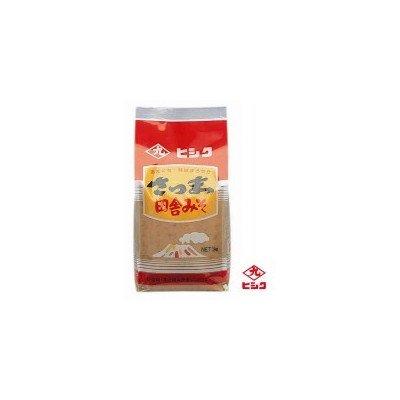 ヒシク藤安醸造 さつま田舎麦みそ(麦白みそ) 1kg×5個