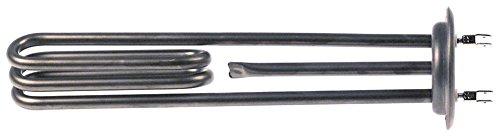 Sammic - Radiador para lavavajillas SL-290B, SL-550BP, SL-550B, SL-350B, conector plano de 6,3 mm de ancho, 31 mm de ancho, instalación de 57,5 mm