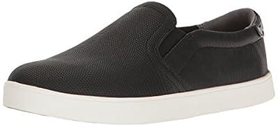Dr. Scholl's Shoes Women's Lizard Print Fashion Sneaker, Black/Black, 6.5