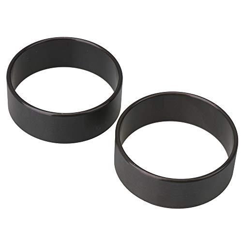 CNBTR 2 anillos cónicos de compresor de aire negro para compresor de 550 W, 600 W, 750 W.