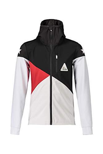 Maloja Langlaufjacke Jacke CarvilU. Nordic Jacket schwarz wasserabweisend (Kindergröße: M)