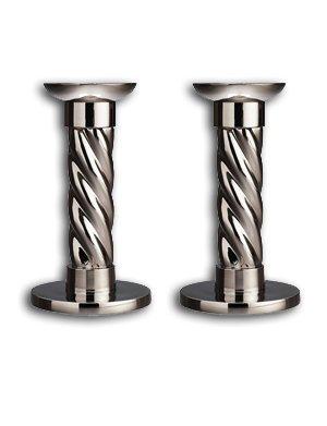 L'Objet Carousel Candlesticks, Set of 2, Small by L'Objet