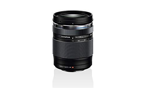 Olympus M.Zuiko Digital ED 14‑150mm F4‑5.6 II Objektiv, Universalzoom, geeignet für alle MFT-Kameras (Olympus OM-D & PEN Modelle, Panasonic G-Serie), schwarz