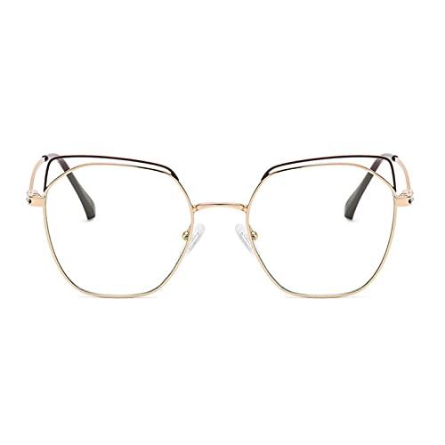 BDBY Gafas de Sol Deportivas polarizadas, Marco de Metal de Ojo de Gato Vintage para Hombres 100% UV Protección Gafas Lentes de Pesca para Ciclismo de conducción al Aire G
