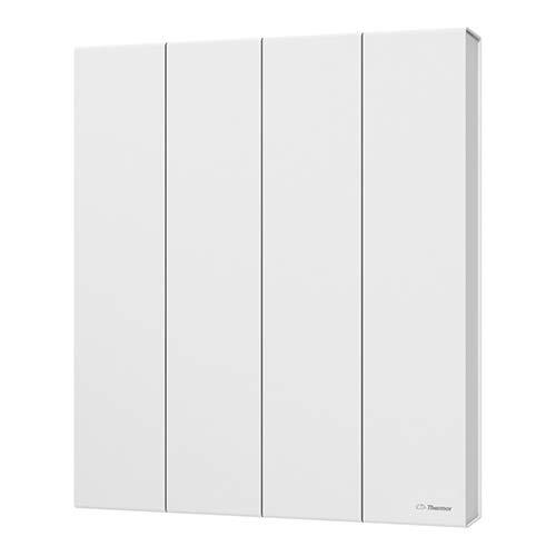 Kenya 3 radiator, 1500 W, horizontaal, wit