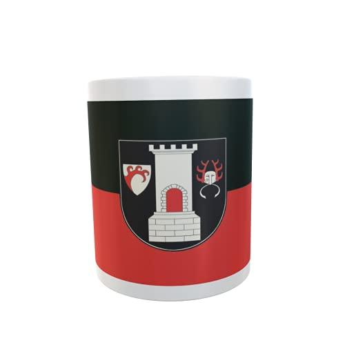 U24 Tasse Kaffeebecher Mug Cup Flagge Blankenburg (Harz)