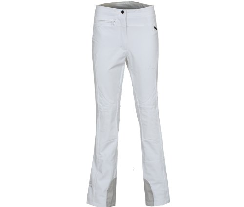 Bergson Damen Softshell Skihose Switch, White [600], 40 - Damen