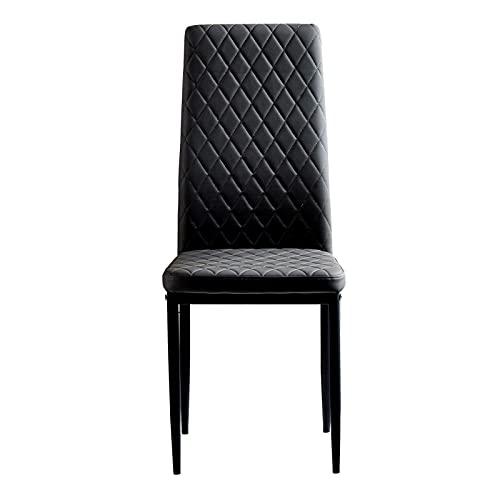 Perfekt und einzigartig wünschenswert für Konferenzstühle für Restaurantwohnungen, abnehmbare Struktur, Diamantgitter-Esszimmerstuhl, feuerfeste, lederbeschichtete Legierungsröhre, elementarer viertei