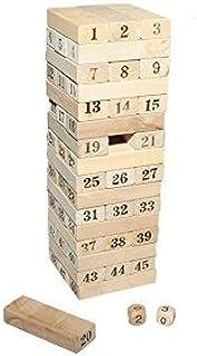 Juguetutto - Yenga Números- Juguete de madera: Amazon.es: Juguetes y juegos