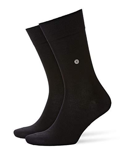 Burlington Herren Lord M SO Socken, Blickdicht, Schwarz (Black 3000), 40-46 (UK 6.5-11 Ι US 7.5-12)