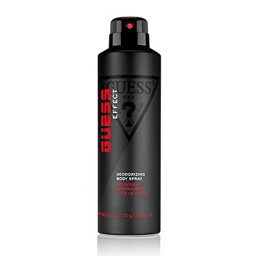GUESS Effect Deodorizing Body Spray for Men, 6 Fl Oz