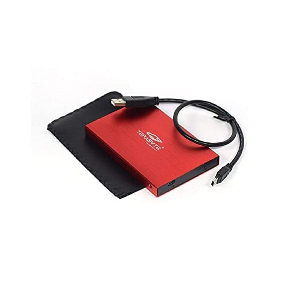 """TERABYTE 2in1 USB 2.0 External Hard Drive Laptop Casing for 2.5"""" SSD/HDD 2.5 inch HDD Enclosure (Color May Very) 5"""