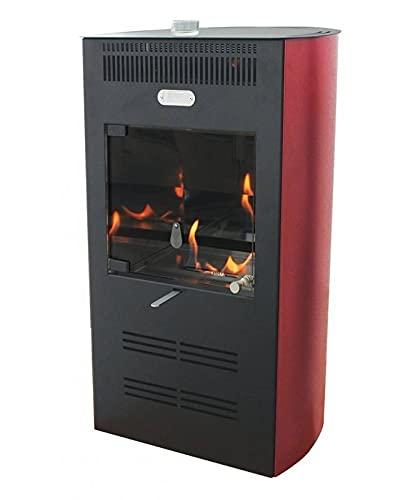 TECNO AIR SYSTEM Stufa a bioetanolo ventilata Elegance - Disponibile in Diversi Colori - Bianco