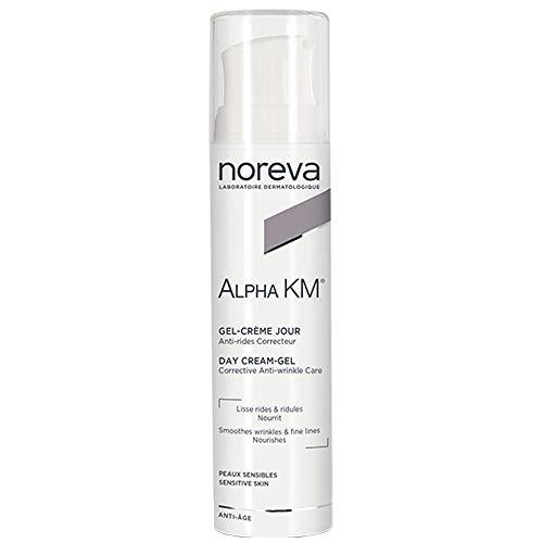 Noreva Gel, Tagescreme, Anti-Aging, für sensible Haut, 30 ml, Alpha Km Noreva