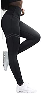 First class Seamless High-waisted Tummy controlled casual leggings sport Fitness pants for ladies from BrownLine with four...