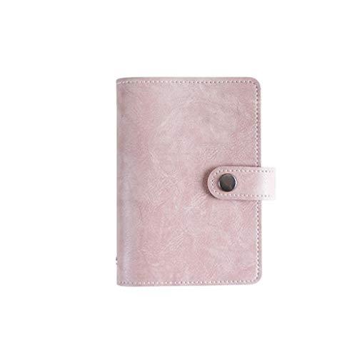 HGDCB Notebook met scheidingswanden, leer, loose-leaf magneetgesp, lichtgewicht en draagbaar, uniseks, geschikt voor Office School (A7)
