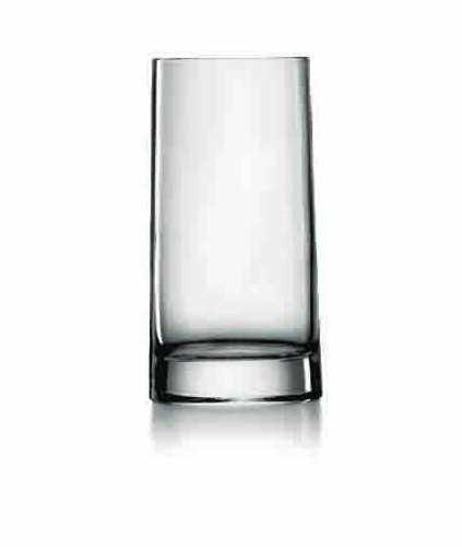 Luigi Bormioli, us kitchen, LUIG9 Veronese 14.5 oz Beverage Glasses, Set of 6, Clear