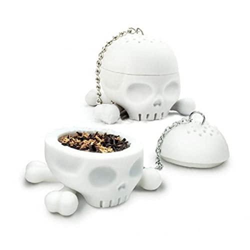 Ruluti De Silicona T-Bones Té Huesos del Cráneo De Infuser...