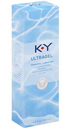 KY ULTRA GEL Water Based Lubricant Formerly Sensual Silk : Size 4.5 Oz. / 133 Ml (Pack of 2) by K-Y