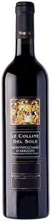 Vino de Montepulciano D'Abruzzo, vinos de Vannelli 25 cl
