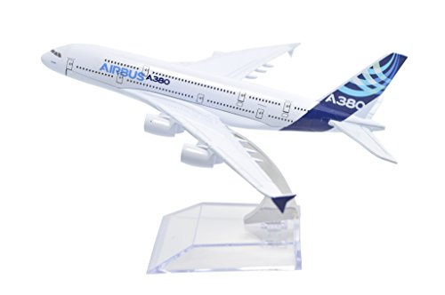 TANG DYNASTY(TM 1:400 16cm Air Bus Original Airbus A380 Metal Airplane Model Plane Toy Plane Model