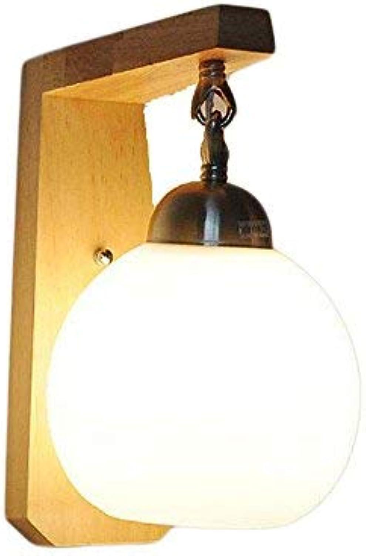 BAIF Wandlampen, grenzüberschreitend für modernes, minimalistisches Wohnzimmer Holz Kunst japanische kreative Studie Schlafzimmer Bett Gang (359D) Bracket Light