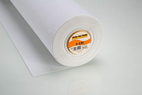 Vlieseline Schabracken-Einlage S520 fixierbar 90 cm weiß