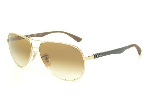 Gafas de sol Ray Ban Tech RB8313 001/51 Gold+Gris/Crystal Brown Gradient Lens 58mm