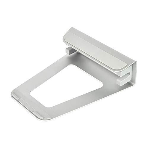 Laptop Stand, Portable Laptop Riser - Adjustable Ergonomic Desktop Laptop Cooling Holder Desk,Suitable for 4-14 inch mobile phone/tablet 7-11 inch notebook,Silver