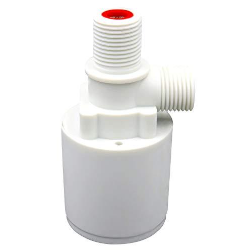 Cicony - Grifo de botella esférico flotante con válvula de control automático del nivel de agua, depósito de agua, válvula de flotador