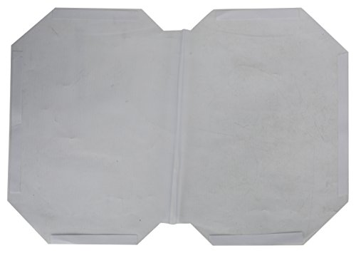 IMPRINT Adhesive Book Cover (Transparent, Pack of 10)