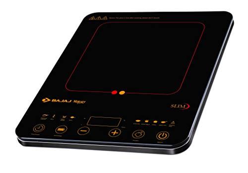 Bajaj Majesty Slim 2100-Watt Induction Cooktop (Black)