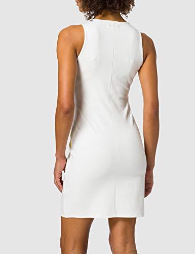 Desigual Vest_Petals Vestido Casual, Blanco, M para Mujer