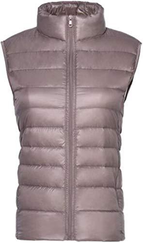 Women Ultra-Light Vest Down Puffer Jacket Windproof Coat