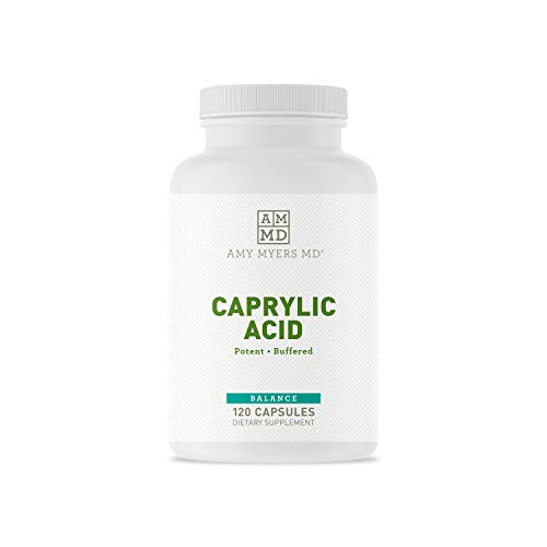 Dr Amy Myers Caprylic Acid Capsules 800 mg - Provides Optimal Support...