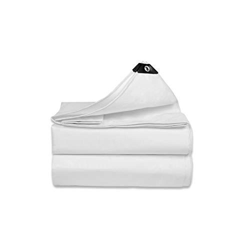 YBDXMM Lona De ProteccióN Lonas Carpa Impermeable con Arandelas De Metal Lona Antidesgarro para Cubierta Porche Patio Toldo Camping Aire Libre,2x3m/6.5x9.8ft