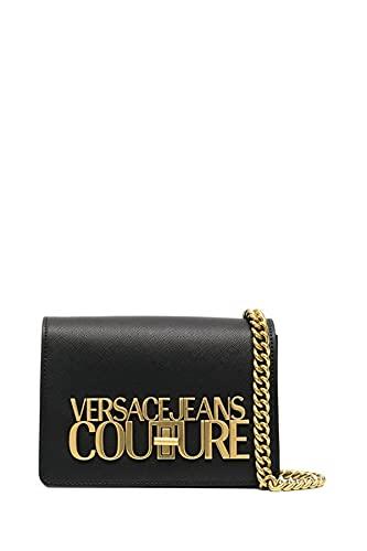 Versace Borsa Jeans Couture mini tracolla maxi logo E1VWABL3 71879 899 nero