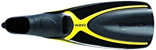 Mares Wave Full Foot Fins - Yellow - 46 by Mares