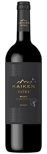 6x 0,75l - 2018er - Viña Kaiken - Ultra - Malbec - Las Rocas - Mendoza - Argentinien - Rotwein trocken