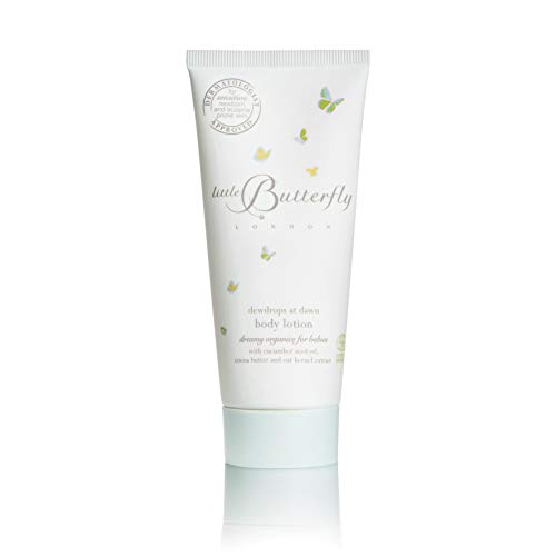 Little Butterfly London Dewdrops At Dawn Body Lotion for Babies Hydrating and Nourishing with Natural Ingredients (100ml)