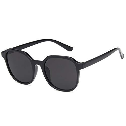 Pumprout 2 unids/bolsa gafas de sol rectangulares pequeñas para mujer, gafas de sol cuadradas de diseñador de marca vintage, gafas de sol para mujer, UV400, negro, 1 tamaño