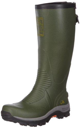 viking Elk Hunter, Unisex-Erwachsene Langschaft Gummistiefel, Grün (Green/Black 402), 36 EU